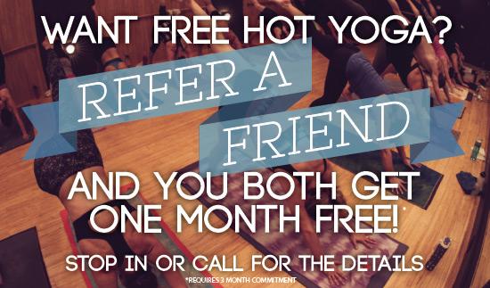 balance hot yoga refer a friend special