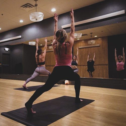 yoga studio on college hill cedar falls iowa